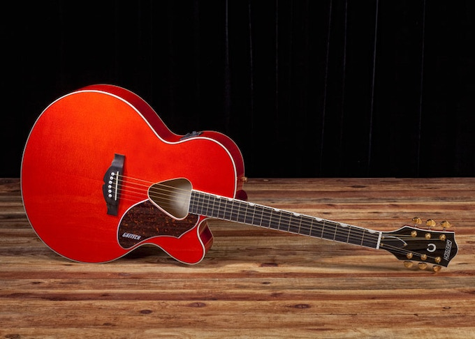 My Gretsch Rancher Acoustic-Electric Guitar