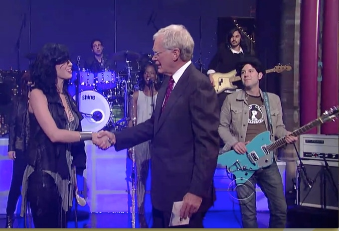 'Rat City Roller Girls' T-Shirt I wore on Letterman
