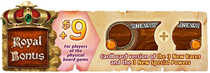 Living outside the USA? Add + $ 5 in shipping fees to your pledge (i.e. $ 14 in total), to receive the cardboard races.