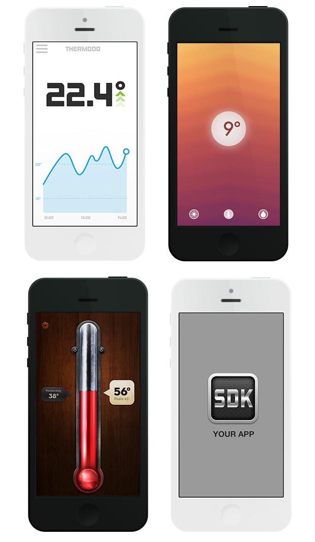 iOS apps Thermodo will work with
