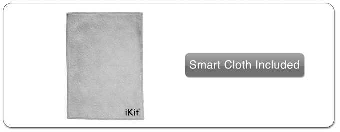 Complimentary Micro-fibre/Silk  Smart Cloth Included