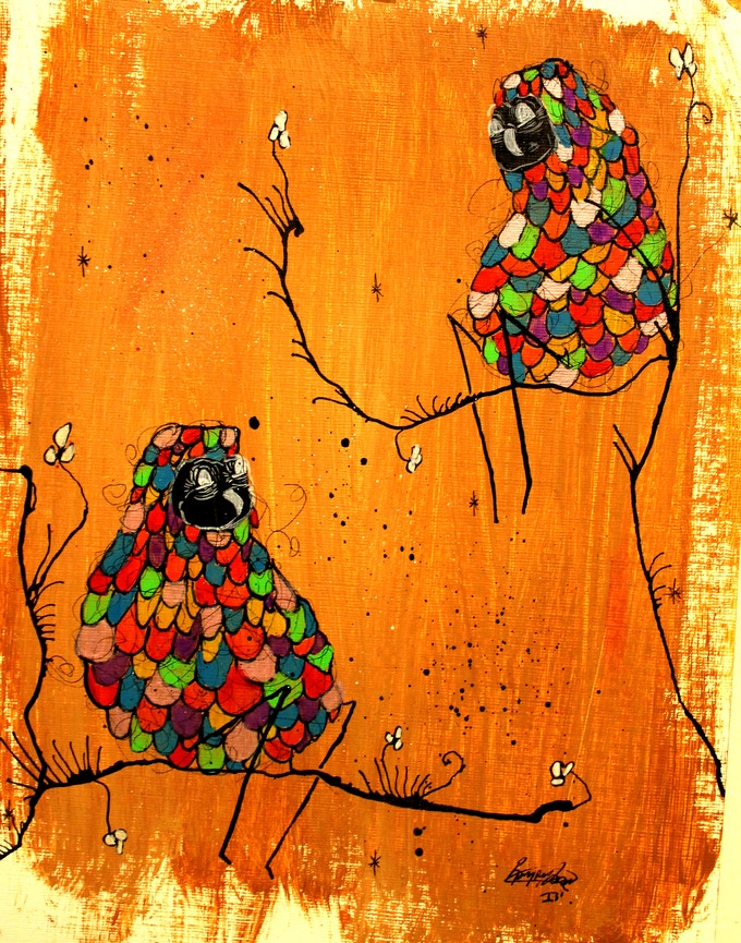 Ramiro Davaro Comas - Owl Print