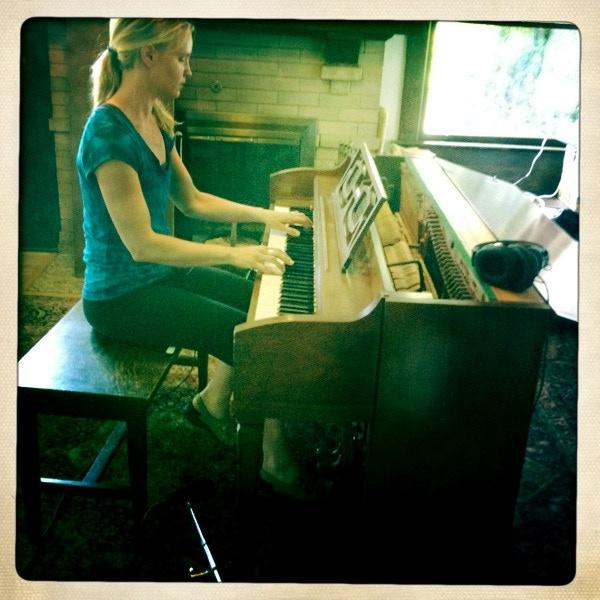 Piano soundcheck