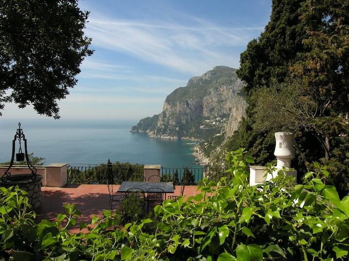 Via Tragara - From A Quiet Weekend in Capri
