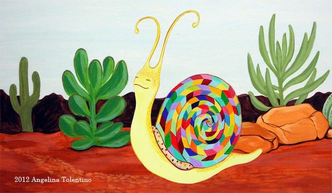 The Desert Snail