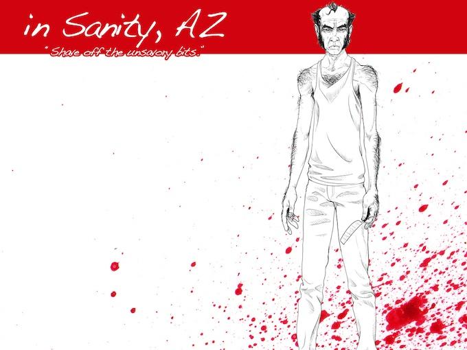 In Sanity Az Horror Comic Book Anthology By Joe Pezzula