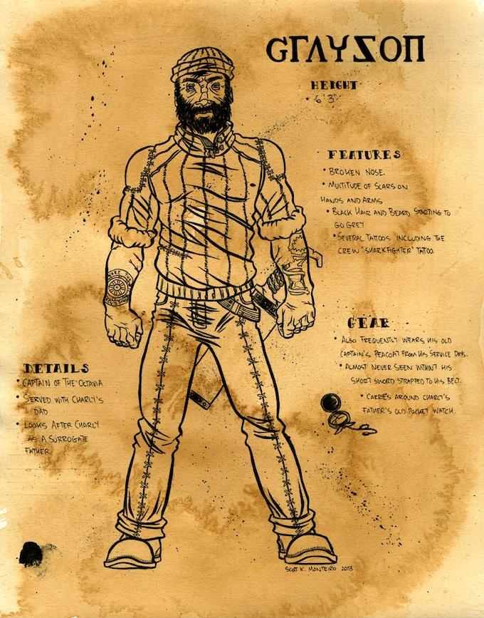 Captain Grayson Model Sheet