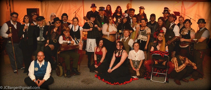 Group Shot taken at STEAMFest 2012 (Photo by James Curtis Barger)