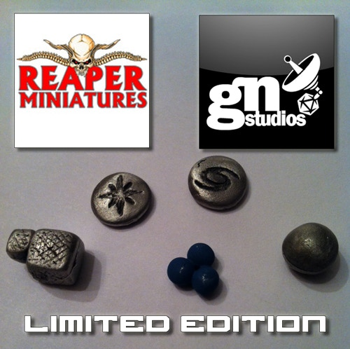 Alpha Prototype Pewter Pieces for the Limited Edition