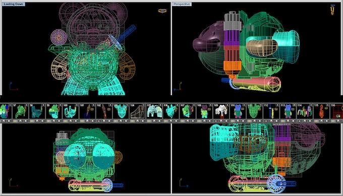 CAD Image of PapaBehr