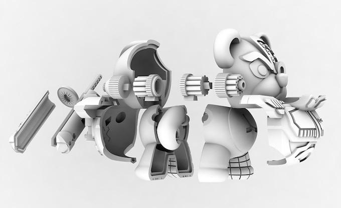 CAD rendering of PapaBehr