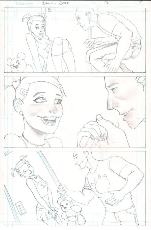 Brandi Bare Issue #3 by Joe Pekar — Kickstarter
