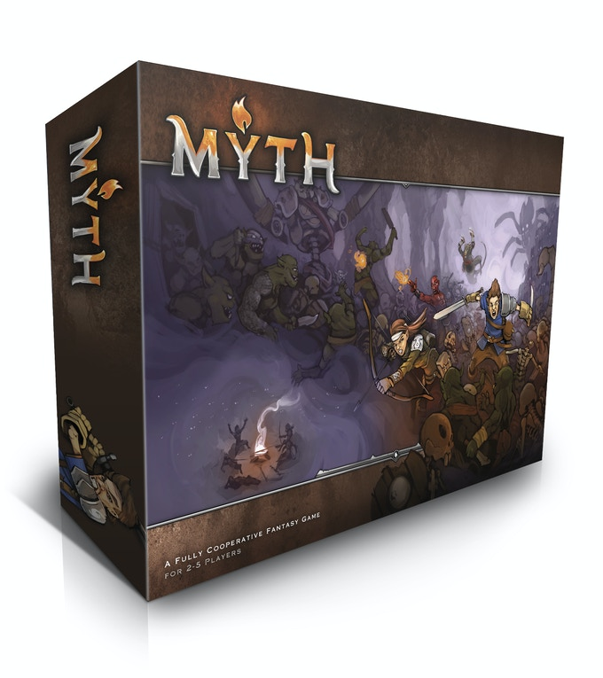 Shared Board Cause To Pause: MYTH By MERCS Miniatures