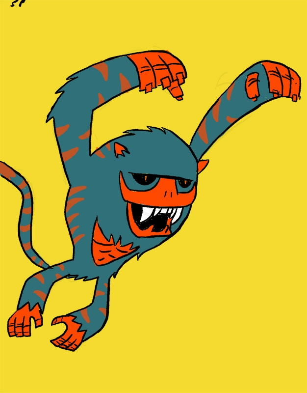 Cave Monkey! Find him in Dead Star Divas!