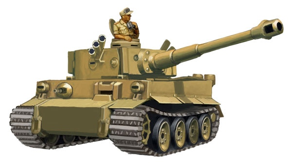 Tunisian Tiger - one of the many units available in Victory