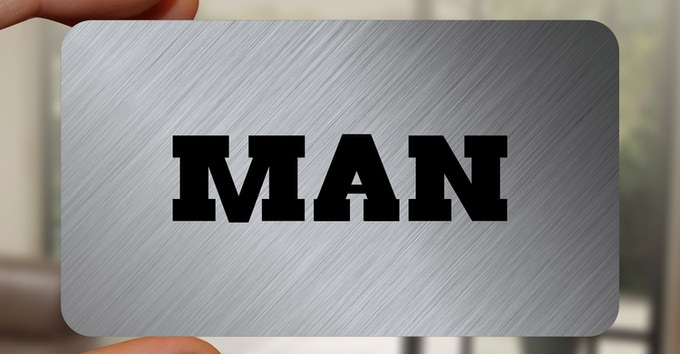 The Lumberjack MAN card