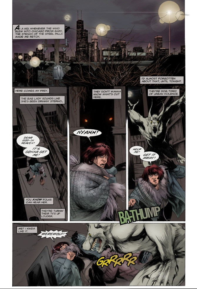 Mongrel Issue 1 Page 1