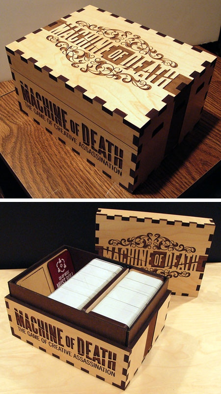Every box is HAND MADE by a FUTURE CORPSE