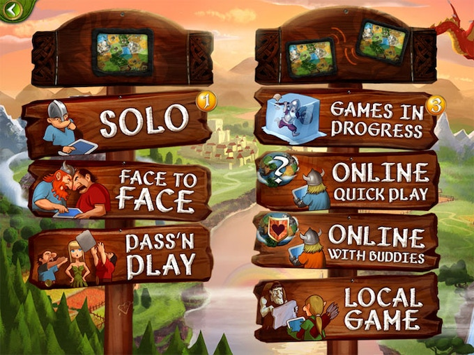 Play alone or with friends, on one device or multiple ones, even on different platforms!