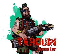 Tarquin. Dwarf inventor