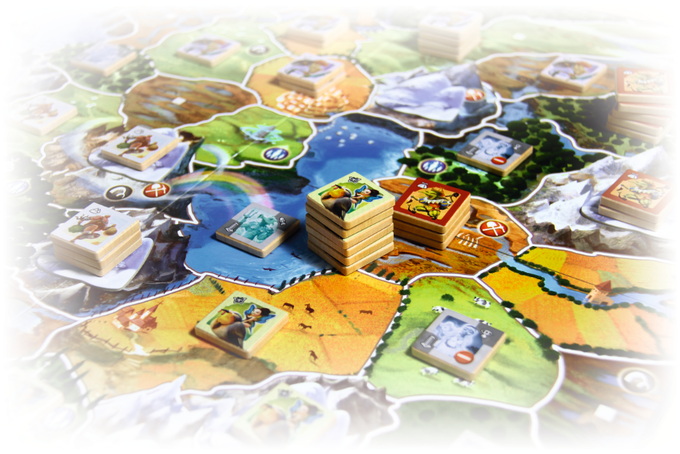The Designer Edition - A truly deluxe version of Small World the Board game