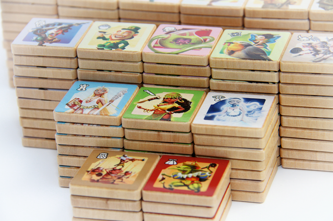 Philippe's original prototype of Small World featured delightful wood tokens; we've finally managed to reproduce them for this very special Designer Edition!