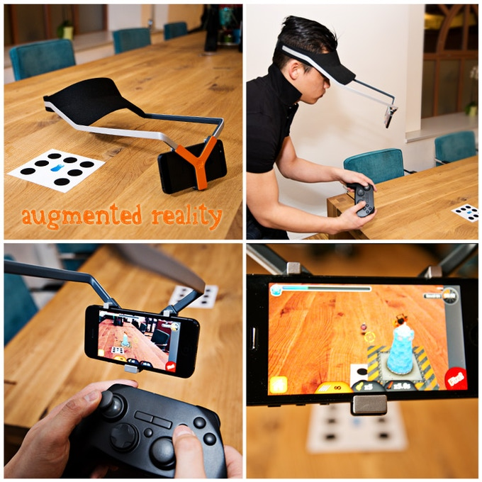 Augmented reality games are awesome with our headflat.
