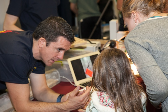 Sharing zombie ants with the kids at Penn State's Great Insect fair