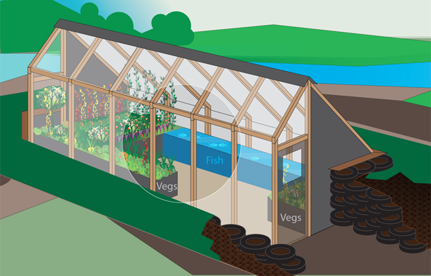 The Farm Of The Future Earthship Inspired Greenhouse By