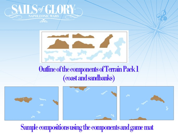 Concept drawings of Terrain Pack #1