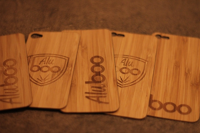 Bamboo iPhone skins