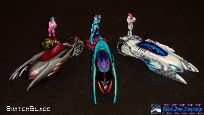 SwitchBlade Mono Bike-Hover Hybrid:  Wing guns may be part of stretch goal.