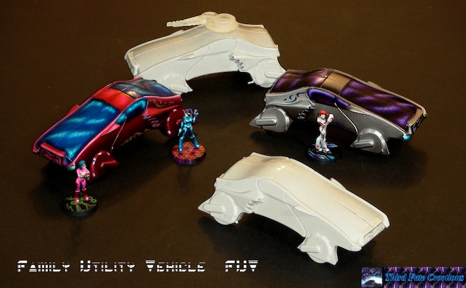 FUV:  Family Utility Vehicle.  Cannon may be part of a stretch goal.