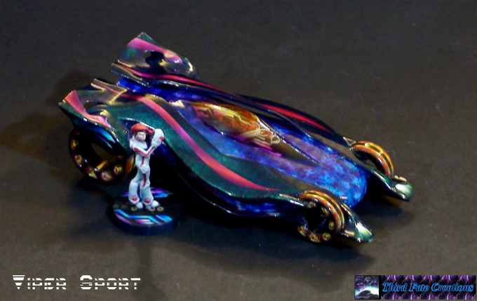 Viper Sport:  This sports car will be available as a stretch goal.