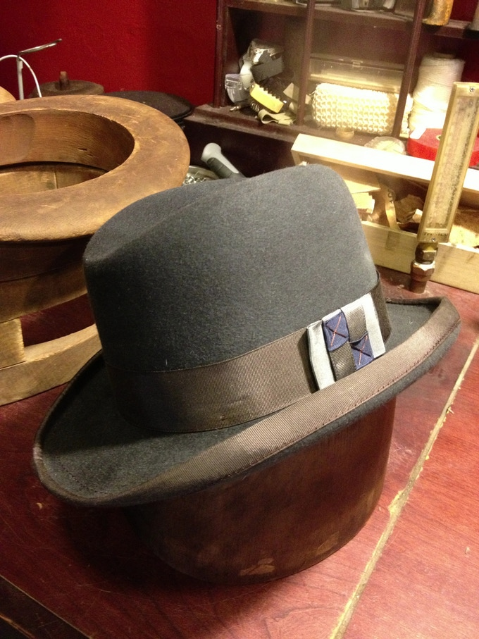 13be7dbb The Brass Rooster Hat Company A Mens American Made Hat Line by John ...