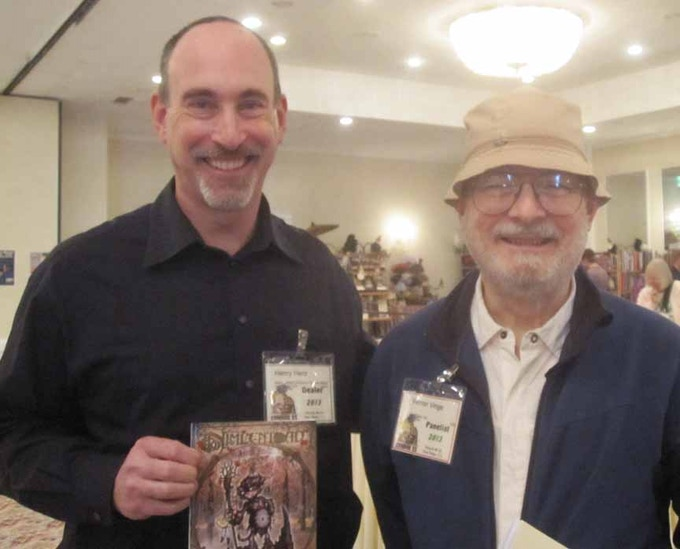 Henry with 5-time Hugo Award winning author Vernor Vinge