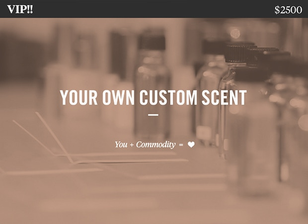 We'll work together to create your custom scent, complete with bespoke labels and 1 on 1 consultations. You get 6 Rollers of your scent, 2 custom carrying cases, and 5 large 100ml Bottles of your scent.