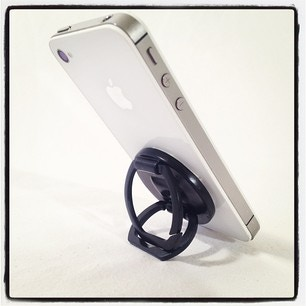 STAND IT! Easily props your device on any side.