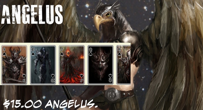 Support the winged creatures known as the Angelus.