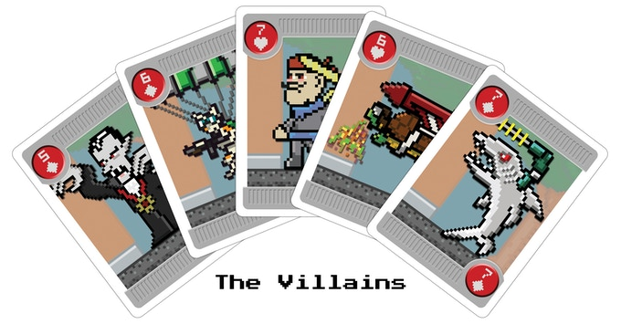 Pixel Lincoln: Bicycle Playing Cards by Game Salute