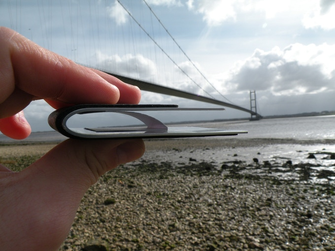 SOLIDO is made of the same steel as Humber Bridge