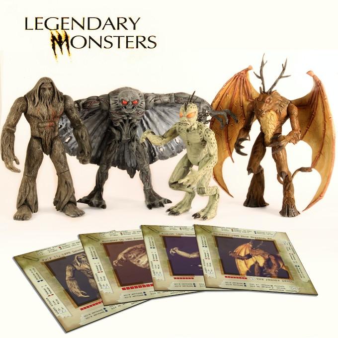 Legendary Monsters by Richard T  Broadwater — Kickstarter