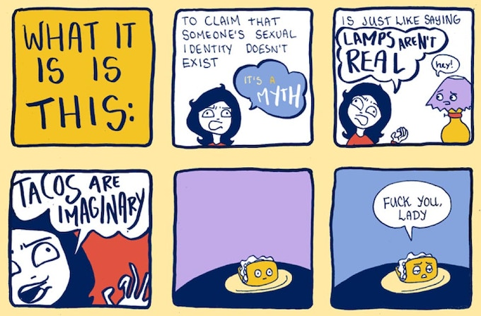 "From contributor Kate Leth, of ""Kate or Die"""