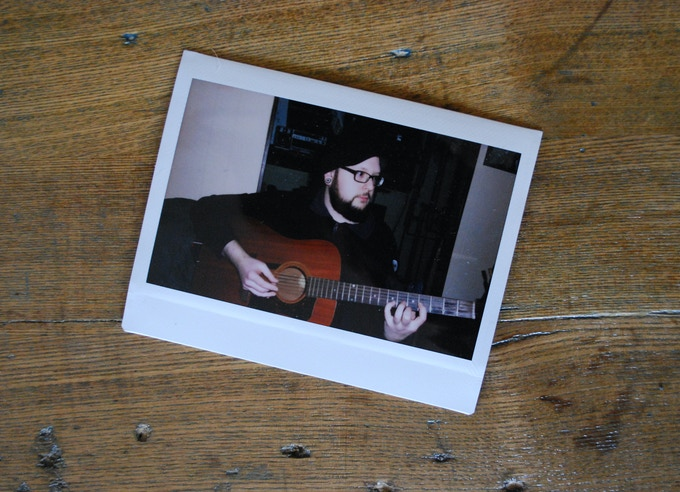 Fujifilm Instax photo, taken sometime during the recording sessions.