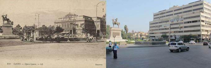 Opera Square, Cairo (past / present)