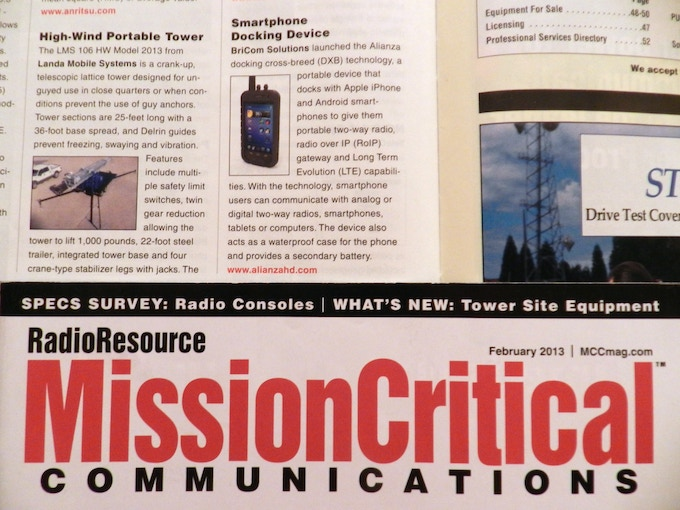 February Edition of Mission Critical Communication Magazine