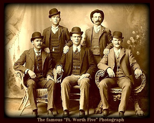 The Law was the first to use this Photo to identify some of the Wild Bunch Gang and, our Forensic Examiners used it 112 years later to identify the real Sundance Kid.