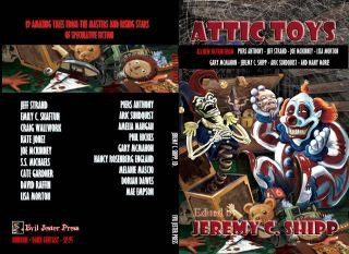 Cover art for ATTIC TOYS