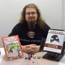 """Kevin Mickelson author of """"Mask of Death"""""""