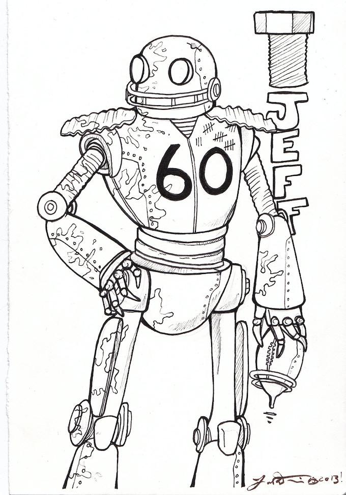 Robot Portraits! by Jon-Paul LaFerriere —Kickstarter